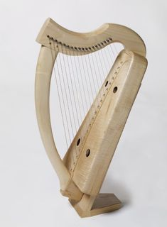 Ardival | Kilcoy - If you want a period-constructed, wire-strung Scottish harp, then they don't get much better than this. It may look small, but the range of music that is performable is amazing. (Listen to Cynthia Cathcart's Alchemy of a Rose if you are curious). Absolutely the most beautiful sounding wire harp!