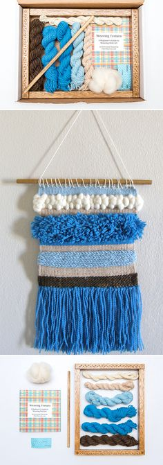 Weave your way to wall hanging wonders.