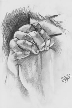 Praying Hands Drawing by Jason Yaw - Praying Hands Fine Art Prints and Posters Christian Drawings, Christian Art, Drawing Sketches, Pencil Drawings, Art Drawings, Sketching, Prayer Hands Drawing, Jesus Drawings, Hand Photography