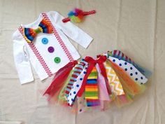 **Current Shipping and Turnaround Times can be found here… Girls White Shirt, Fantasias Halloween, Shabby Fabrics, Circus Party, Coordinating Fabrics, Elastic Headbands, Ribbon Bows, Embroidery Thread, Fabric Scraps