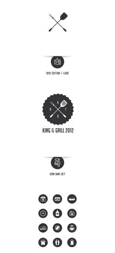 King of the Grill 2012 by Giorgio Favotto, via Behance