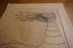 How to dry point etching with plexiglass