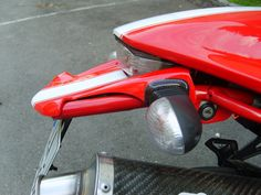 Ducati Monster tail