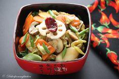 RICE OVALETT STIR FRY (Szechuan Style)