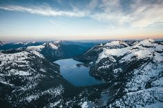 Sunset Over Widgeon Lake by Dylan Furst (near Vancouver, BC, Canada)