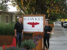 Hawkes Vineyards and Winery - Sonoma, CA, United States. Hawkes proud new wine club members!