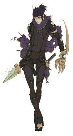 Commissh - Assassin Kei by MizaelTengu on deviantART