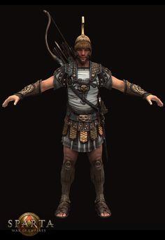 Heavy Archer (Sparta: War of Empires) on Behance