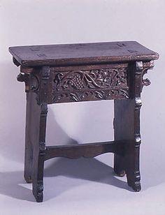 Collection | The Metropolitan Museum of Art Date: 16th century Medium: Oak Accession Number: 1974.28.18