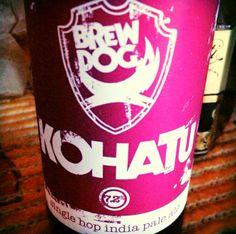 BrewDog IPA is Dead - Kohatu  Brewed by BrewDog Style: India Pale Ale (IPA) Ellon, Aberdeenshire, Scotland