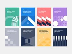 Guide covers designed by Nicolas Solerieu for Opendoor Design. Connect with them on Dribbble; the global community for designers and creative professionals. Design Brochure, Identity Design, Flyer Design, Visual Identity, Identity Branding, Corporate Identity, Buch Design, Art Design, Layout Design