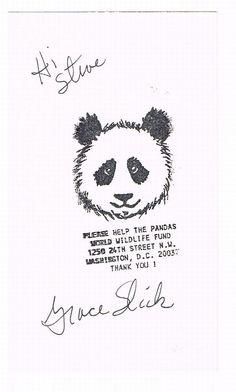 jefferson airplane cartoons | ... Signed Autographed Grace Slick 3x5 Jefferson Airplane Starship | eBay