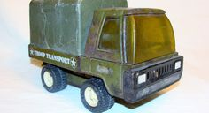 Vintage Buddy L Troop Transport Truck 1970's by ChainDrive on Etsy, $10.00