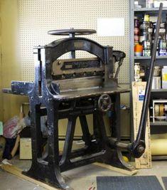 "30.5"" Oswego guillotine paper cutter"