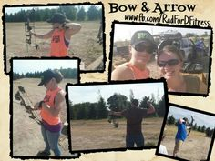 A great way to spend the evening!  Shooting bows, dinner, and games! Woot Woot!   #funtimes #friends #bowandarrow