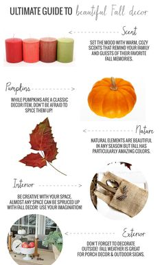 The Ultimate Guide to Fall Decor (Hundreds of DIY ideas!)