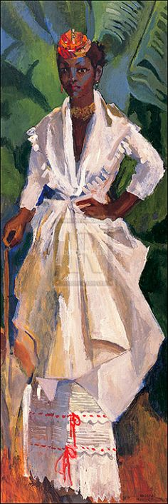 """Woman in White II"" by Holder"