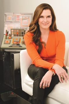 Brooke Shields Collaborates With MAC Cosmetics