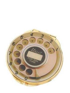 telephone dial compact mirror - kate spade new york