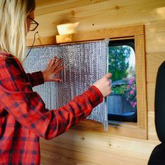 Reflectix makes such a huge difference when insulating a camper van. I knew this would make a big difference when adding it to the windows!