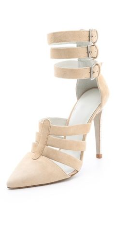 LOVING these Plomo heels and they come in mint too!! $350