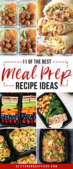Diet Meal Plans 11 of the best meal prep recipe ideas - Save time and money (no more eating out!) with these 11 meal prep recipes Best Meal Prep, Lunch Meal Prep, Healthy Meal Prep, Meal Prep Dinner Ideas, Meal Preparation, Aldi Meal Plan, Diet Meal Plans, Clean Eating Snacks, Healthy Eating