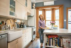 Food writer Melissa Clark shares her kitchen muse, spice hoarding habits, and the things she loves about her kitchen.