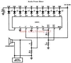 vumetro con leds lm3914 elektronika technika pinterest diy rh pinterest com