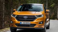 The 2019 Ford Edge ST has second-generation twin-turbocharged EcoBoost which replaces and builds on the athleticism of last year's Edge Sport. All regular Edges Car Images, Car Photos, Car Pictures, New Ford Edge, Ac Cobra, 2019 Ford, Car Wallpapers, Bmw X5, New Trends
