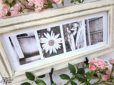 I LOVE these photo letters.  Free printables.