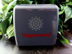 Tupperware Black Logo Lunch Sandwich Box Keeper NEW by Tupperware. $9.86. Tupperware Symbol. Sandwich Keeper. 1 -Black (cosmos) With Red Lettering. RARE. Tupperware  Brand New  1 -Black (cosmos) With Red Lettering and The Tupperware Symbol Consultant Logo Sandwich keeper Rare