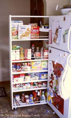 DIY Pull-Out Pantry Tutorial