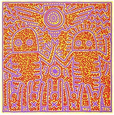 Keith Haring - Artist 20th century - Bad Painting - Underground Style