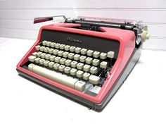 Every office needs a CURSIVE typewriter.