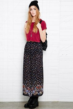 Vintage O Maxi Skirt at Urban Outfitters
