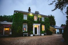 At night Friern Manor Essex Wedding by Anesta Broad Photography