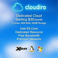 cloud hosting with free bandwidth. Linux & Windows Hosting. Data center in USA, Europe and Asia