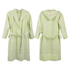 Trendy Peshtemal Dressing Gown Cotton   Olive Size  Medium   Large 616b67b64