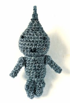 Tin Man Free Pattern. More Wizard of Oz characters too!