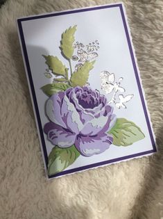 Scrapbook Cards, Scrapbooking, Altenew Cards, Flower Cards, Cosmos, Handmade Cards, Card Ideas, Stamps, Card Making