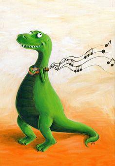 Happy T. rex!