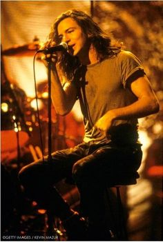 """Pearl Jam Unplugged 1992 ❤️ """"Jesus Messiah (pbuh) will listen to music and he will be a very extroverted person who likes having fun. You will see. He is a highly modest, humorist, very well behaved, very handsome, magnificent young man with thin waist and wide shoulders."""" Adnan Oktar (A9 TV; November 1st, 2013)"""