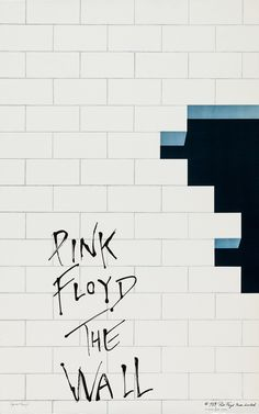 Pink Floyd - The Wall (1979) Artwork by Gerald Scarfe