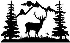 Image result for rustic silhouette