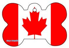 Canada Flag Bone Dog Pet Cat ID Tag Custom Picture Image Personalized Key Ring by DogETropolis on Etsy https://www.etsy.com/listing/260333544/canada-flag-bone-dog-pet-cat-id-tag