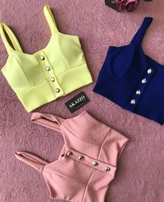 Teen Fashion Outfits, Trendy Outfits, Girl Fashion, Summer Outfits, Cute Outfits, Womens Fashion, Sari Blouse Designs, Crop Top Outfits, Pretty Lingerie
