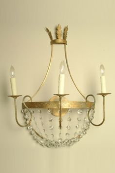 Sconce from LaCaze Inc.