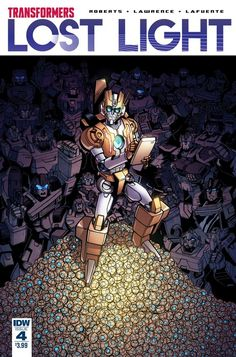 Transformers Lost Light Issue #4 Three Page iTunes Preview