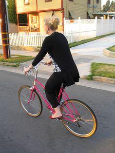 Classy cute little bike shoes lol ♥♥♥♥♥♥♥♥♥♥