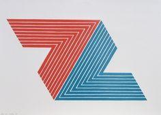 Ifafa II from the V Series  Frank Stella (American, born 1936)